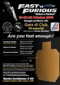 Gara di Club IDPA Fast'n Furious 2016