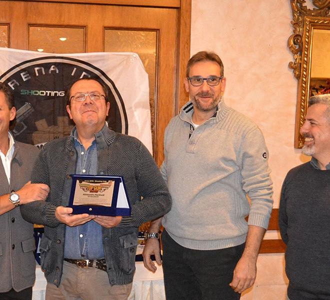 Premiazione Alessandro Martinelli Top Gun 2016