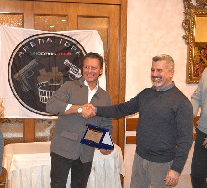 Premiazione Conte Matteo Bencini Top Gun 2016
