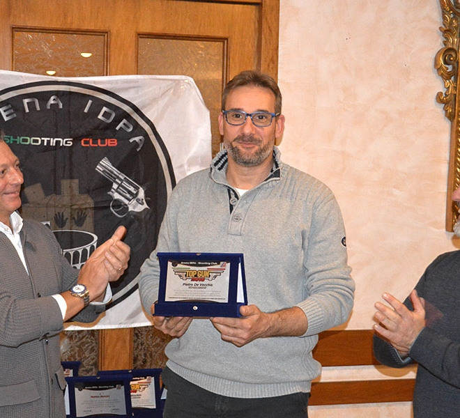 Premiazione Pietro De Vecchis Top Gun 2016