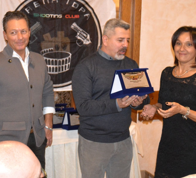 Premiazione Simonetta Galvan Top Gun 2016