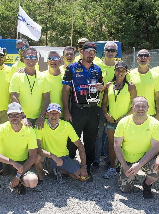 Arena Shooters Bob Vogel - foto di gruppo