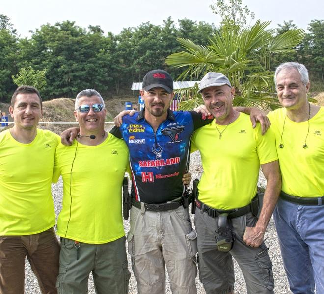 Arena Shooters Gara con Bob Vogel a Valeggio