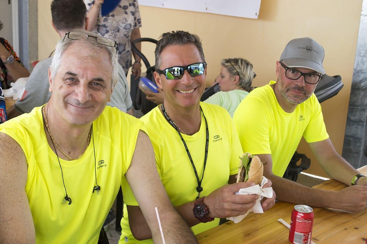 Enrico, Matteo e Max · Gara con Robert G. Vogel