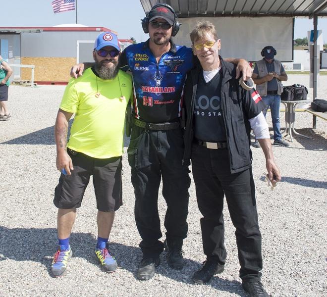 Delta, Robert e Hans · Gara con Robert G. Vogel