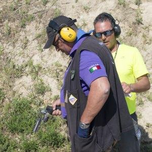 Ricarica tamburo revolver IDPA