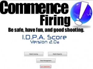 IDPA hard cover