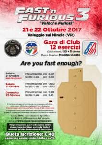 Fas'n Furious 2017 Arena Shooters - Club idpa italia