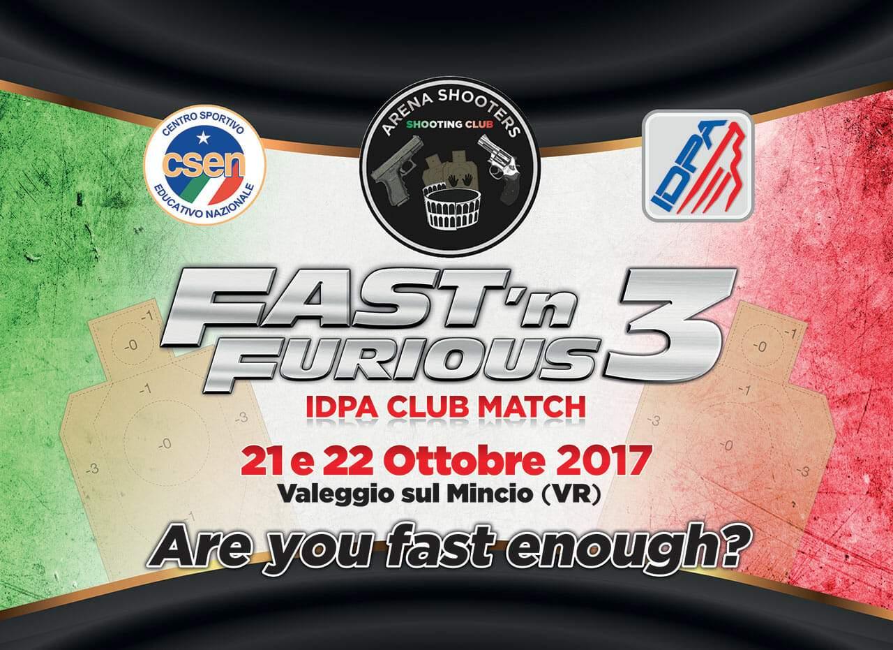 FastnFurious 2017 AD Arena Shooters IDPA Italia