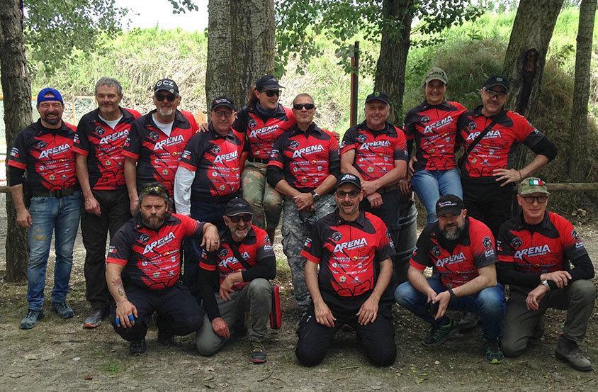 Squadra Arena Shooters in trasferta ad Agna (PD)