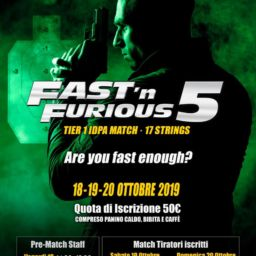 Fast'n Furious 2019 gara IDPA Tier 1